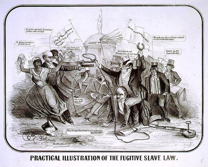 the fugitive slave law of 1850 The fugitive slave act of 1850  this law placed fugitive slave cases under the exclusive authority of the united states federal government.