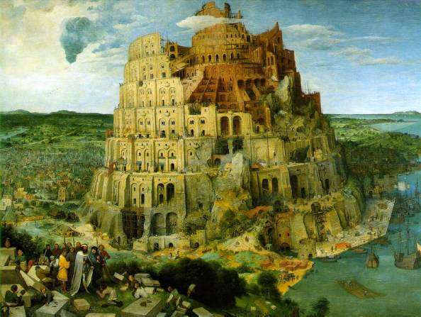 The Tower of Babel by Pieter Brueghel