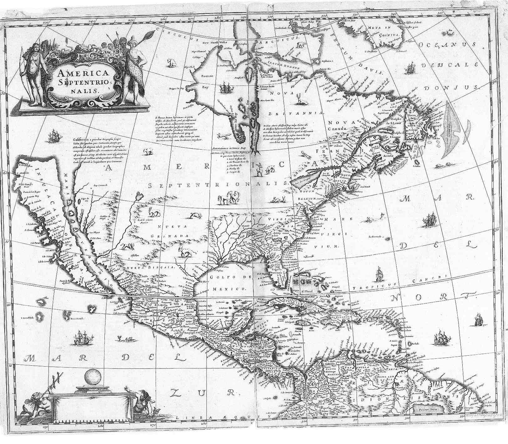 Early Voyages To California  Father Theos Blog - Early maps of america