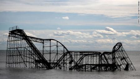sandy roller coaster