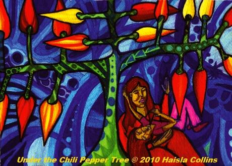 under the chilli pepper tree-s