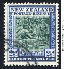 waitangi stamp
