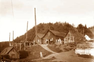 Old Hazelton-sepia