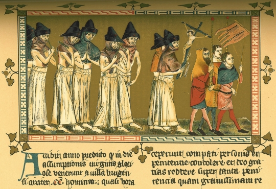 flagellants at Doornik 1349-s