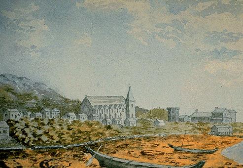 Metlakatla by Lady Dufferin, 1876