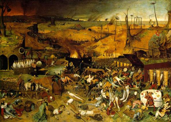 triumph of death bruegel the elder