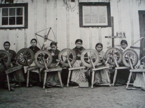 Tsimshian weavers