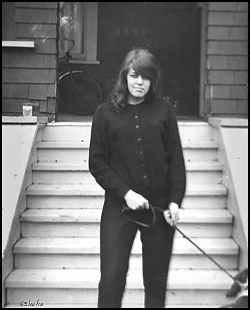 Jo 1963 (photo by Bob Cain)