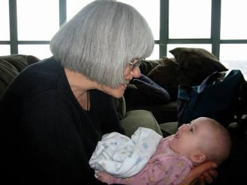 Jo & granddaughter