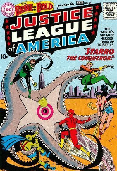 JLA vs Starro