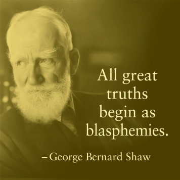 Shaw was eminently quotable.
